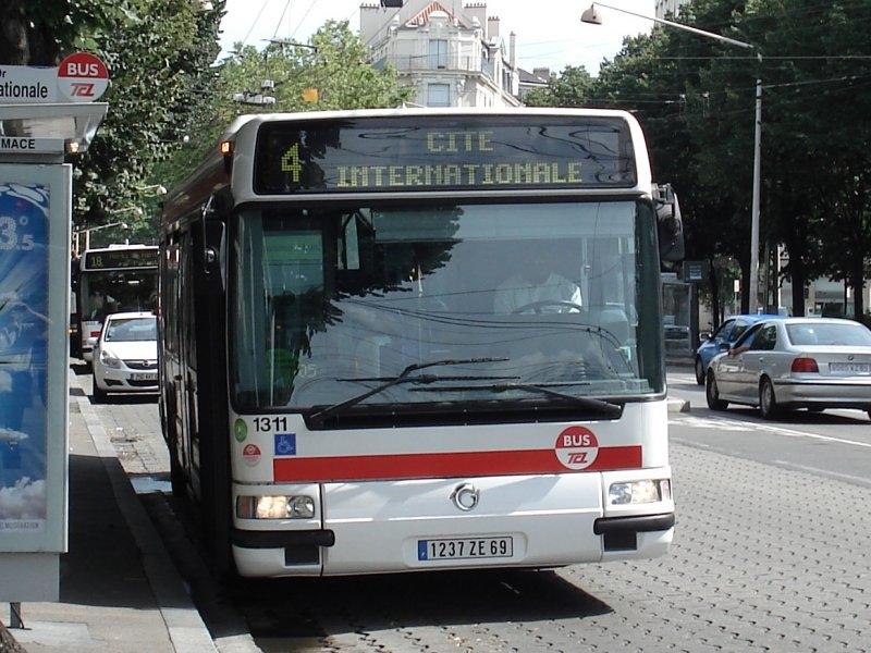 L'Agora Line €3 1311 sur la ligne 4