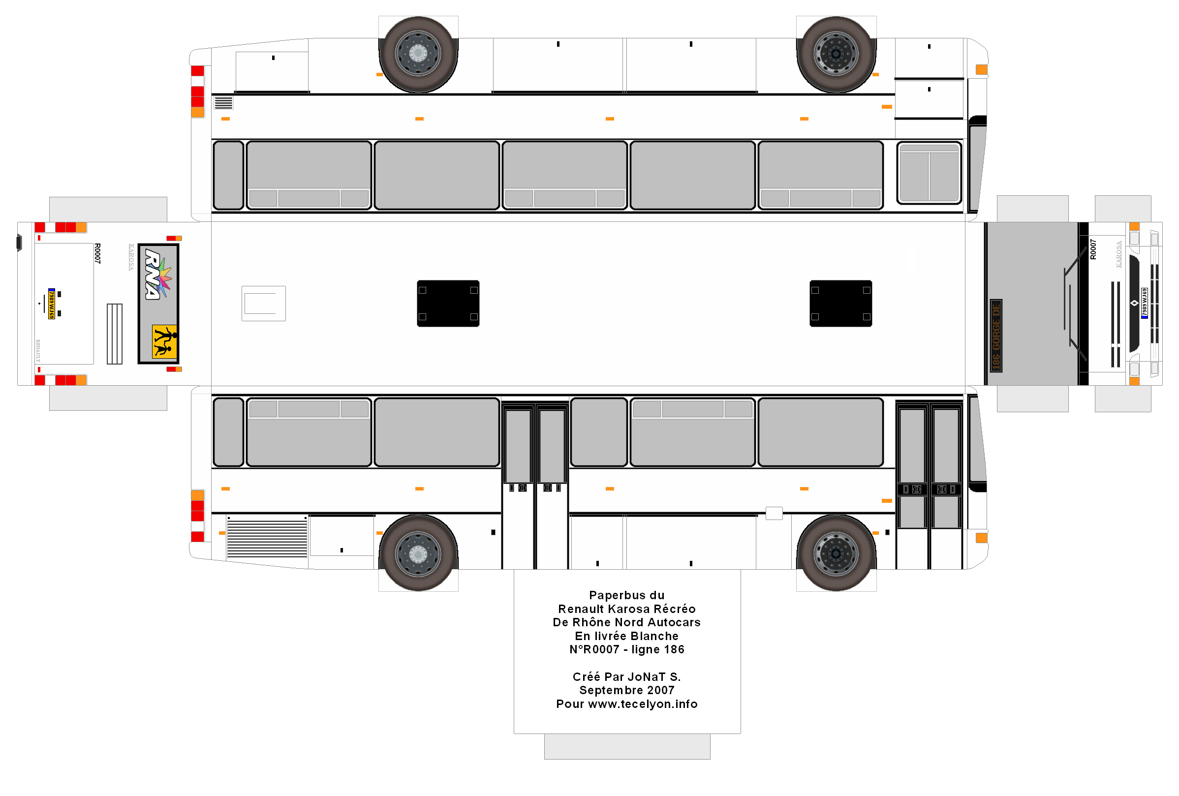 Как сделать автобус из картона