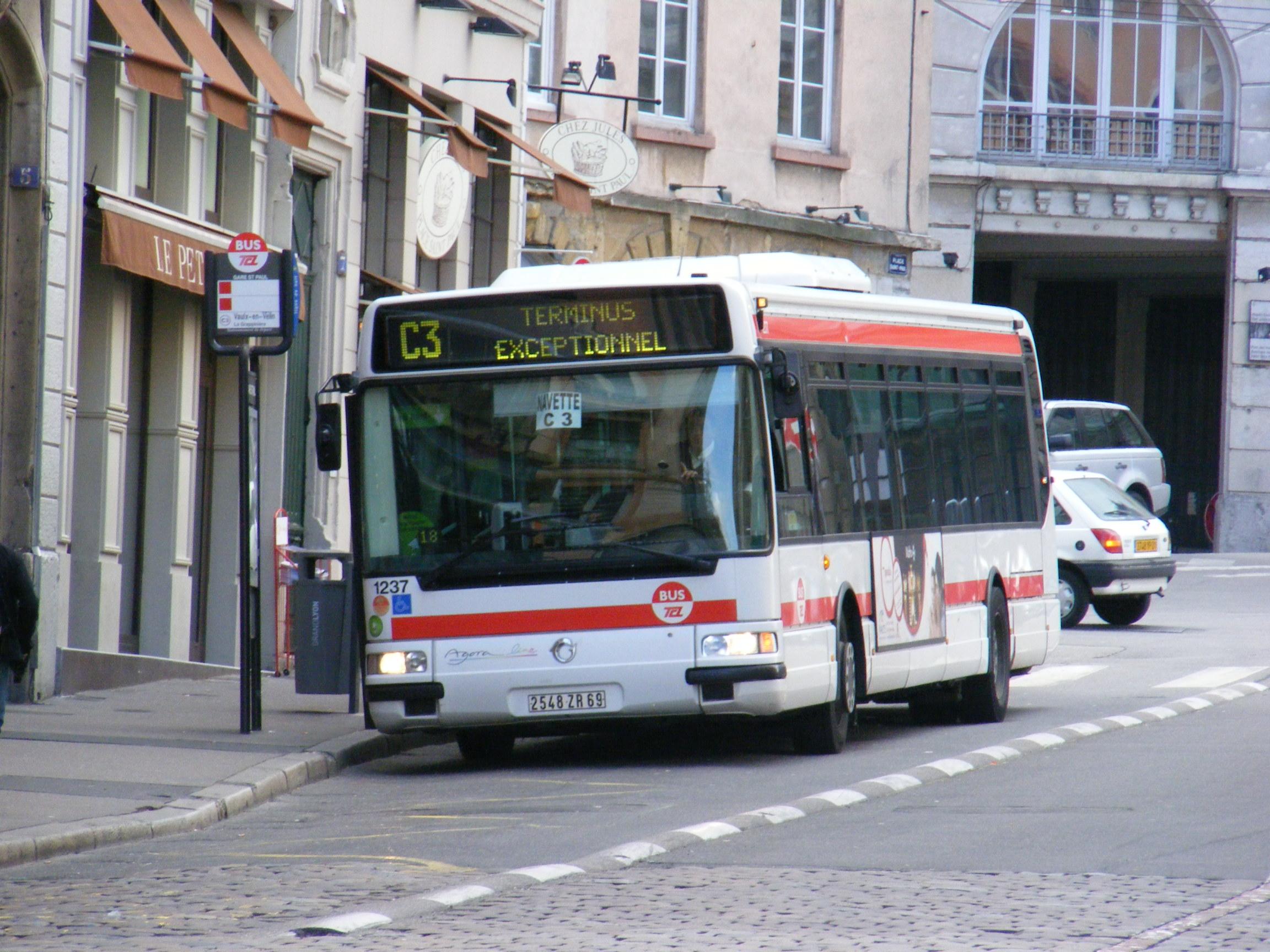 La navette c3 ira la part dieu la passion des autobus - Lyon to geneva bus ...